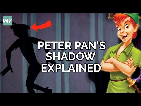Disney Theory: Peter Pan's Shadow Explained!
