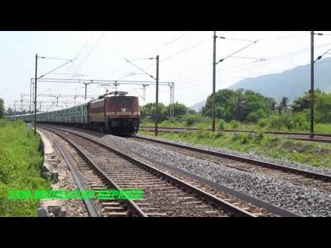 RF At JTJ - Brindavan Express Led By RPM WAP-4