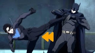 "Batman vs Nightwing (Full Fight) ""Batman: Bad Blood"""