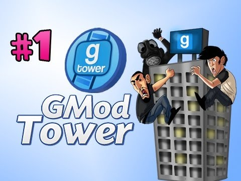 CAN WE GET A TOUR?!? - Gmod Tower w/Nova, Immortal &amp; Kevin Ep.1 Video