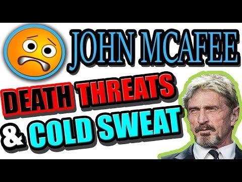 John Mcafee CANCELS His Keynote Speech (видео)