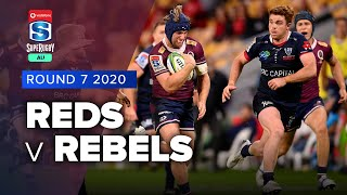 Reds v Rebels Rd.7 2020 Super rugby AU video highlights | Super Rugby AU Video