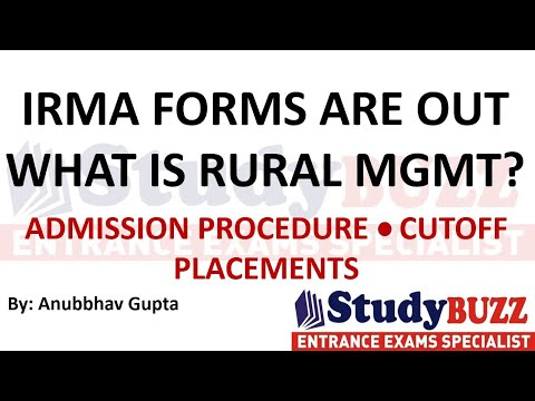 IRMA forms are out | What is Rural Management? Admission process, Cutoffs, Placements, Profile based