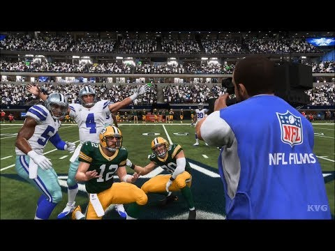 Madden NFL 19 - Dallas Cowboys vs Green Bay Packers - Gameplay (HD) [1080p60FPS]