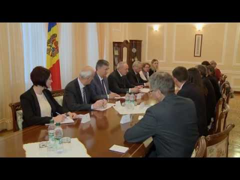 Moldovan president receives delegation of European Parliament
