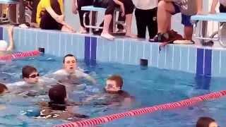 Соревнования по прикладному плаванию 2014 (видео №2)
