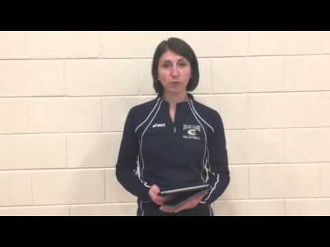 Volleyball Coach Kim Wudi Recaps Oct. 11 Elmhurst Invitational