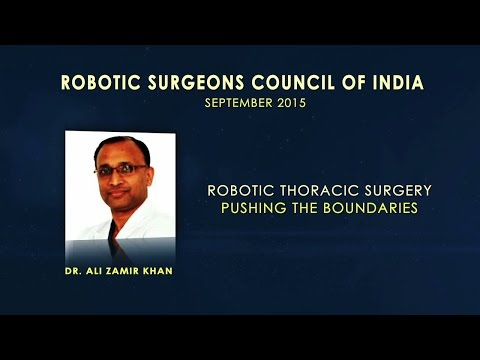 Robotic Thoracic Surgery-Pushing the Boundaries