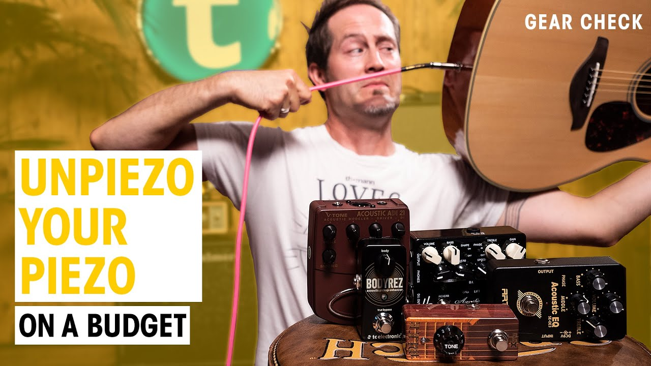 Better Amplified Acoustic Guitar Sound on a Budget | Thomann