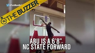 This NC State forward can fly by @The Buzzer