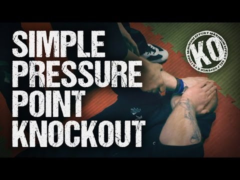 Simple Pressure Point Knockout