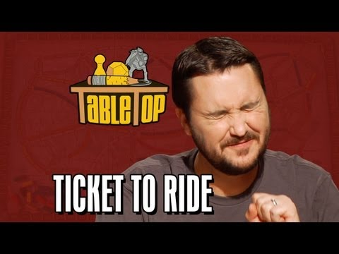 ride - Want to play Ticket to Ride with your friends at home? Visit your local game store to purchase it! Subscribe to Geek and Sundry: http://full.sc/GTVYfM Join o...