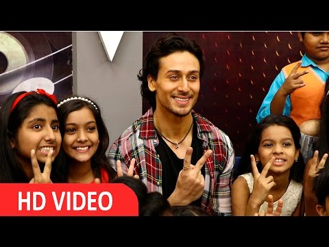 Movie The Flying Jatt Promotion On The Set Of The Voice India Kids