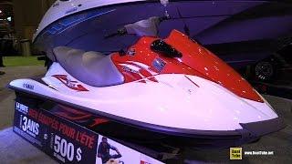 9. 2015 Yamaha V1 Sport WaveRunner Jet Ski - Walkaround - 2015 Montreal Boat Show