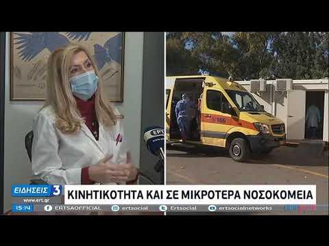 Covid-19  Δραματική η κατάσταση στα νοσοκομεία   22/11/2020   ΕΡΤ