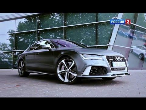 Audi S7 Sportback Тест-драйв Audi RS 7 2014 // АвтоВести 118