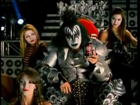 CHERRY DR. PEPPER Gene Simmons (видео)