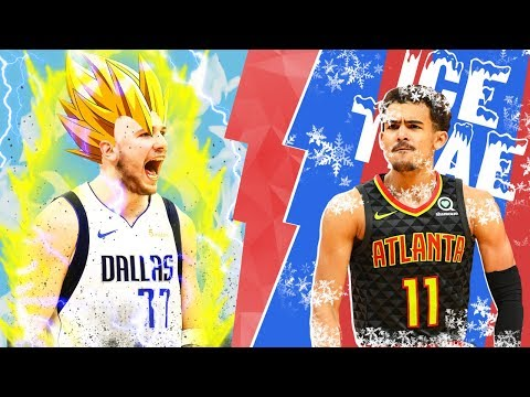 Luka Doncic Or Trae Young: Who Is The NBA's Rookie Of The Year? | NBA Highlights
