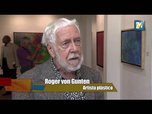 Roger von Gunten en la Galería Juan Martín