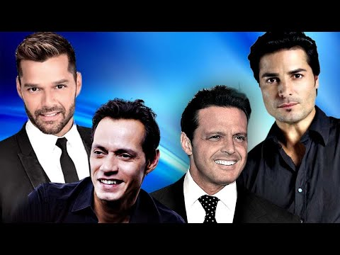 CHAYANNE, MARC ANTHOY, RICKY MARTIN & LUIS MIGUEL EXITOS Romanticos
