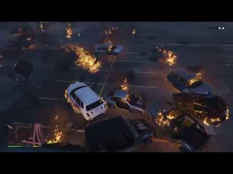 Grand Theft Auto V Explosion