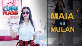 Video Gaya Maia vs Mulan Saat ke TPS - CumiFlash 20 April 2017 MP3, 3GP, MP4, WEBM, AVI, FLV Mei 2018