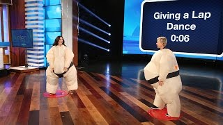 Video Ellen and Demi Lovato Play Su'Move It, Move It! MP3, 3GP, MP4, WEBM, AVI, FLV Februari 2018