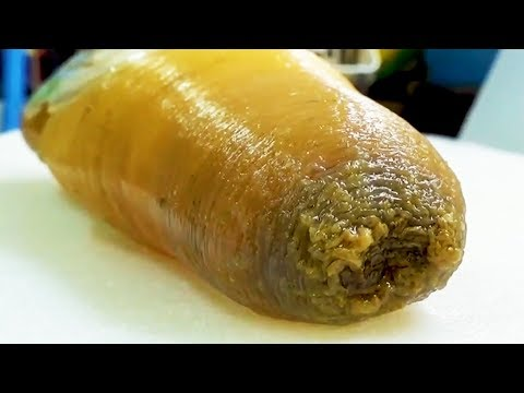 FLABBY SEA MONSTER! Geoduck Sashimi - Japanese Street Food in Okinawa - Thời lượng: 8 phút, 1 giây.
