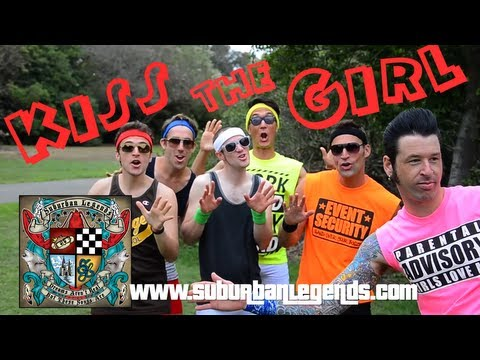 "SUBURBAN LEGENDS - ""Kiss the Girl"" (Official Video)"