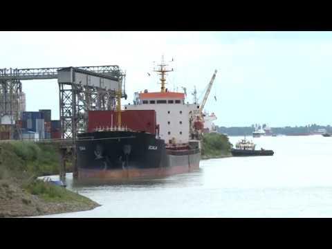 Игорь Додон посетил Международный свободный порт в Джурджулешть