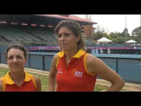 Nuria Llagostera y María José Martínez hablan de la Fed Cup