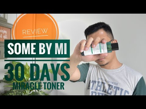 Review  : Some By Me 30 Days Miracle Toner