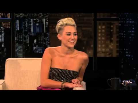 Miley Cyrus's New hero on Chelsea Lately (17th October 2012)