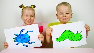 Video Gaby and Alex Learns colors and names of fruits. Educational video compilation for Children MP3, 3GP, MP4, WEBM, AVI, FLV Januari 2019