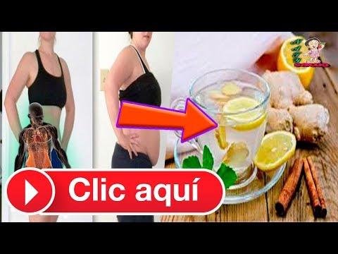 Dieta para bajar de peso - TÉ DE JENGIBRE, CANELA Y LIMÓN PARA BAJAR LA PANZA Y PERDER PESO