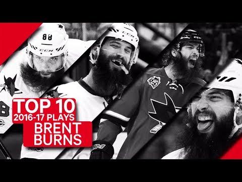 Video: Top 10 Brent Burns plays of 2016-17