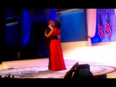 President Barack Obama and First Lady Michelle Obama's First Dance