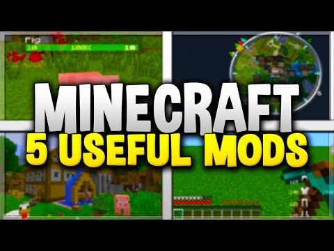 5 USEFUL MINECRAFT MODS! - Top Minecraft Mods for 1.12 (#2)