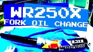 9. WR250X & WR250R Fork Oil Change