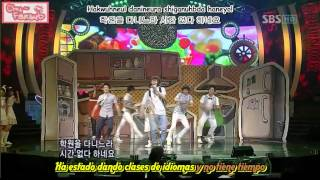[Subs español] Super Junior H - Cooking cooking (Live on Ink 080622)