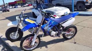4. 2007 yz85 review/start up