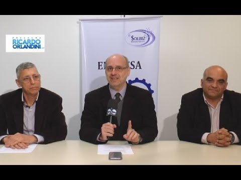 Ricardo Orlandini entrevista os professores Paulo Gerhardt (Virtuale), Antonio Quinteros (Solbiz) e Luiz Carlos Zancanella (Safeweb).