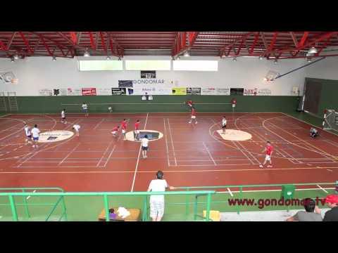 Campeonato de fútbol sala en el pabellón municipal.