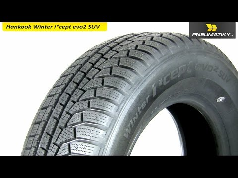 Youtube Hankook Winter i*cept evo2 SUV W320A 215/70 R16 100 T Zimní