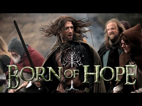 film - Born of Hope is an independent feature film inspired by the Lord of the Rings and produced by Actors at Work Productions in the UK. http://www.bornofhope.com...