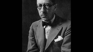 """Igor Stravinsky's version of the prayer, """"Our father"""" (Pater Noster in Latin, Otche Nash in Church Slavonic) О́тче нашъ, И́же еси́ на..."""