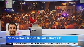 Na Turecko cílí kurdští radikálové i IS