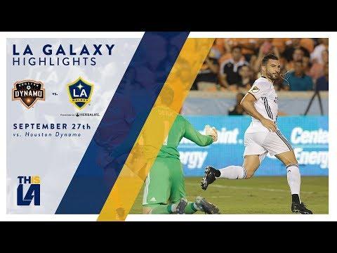 Video: HIGHLIGHTS: LA Galaxy vs. Houston Dynamo | September 27, 2017