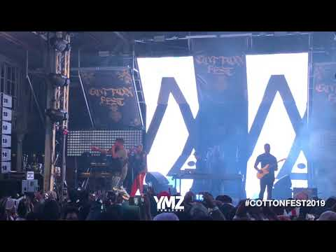 #CottonFest2019 : Anatii performs  'Thixo Onofefe' LIVE