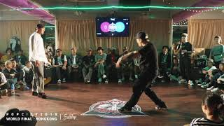 a.k.a Two vs Timothy – POP CITY WORLD FINAL 2018 POPPING BEST16